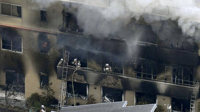 Animationsstudio in Kyoto: Brandstifter tötete wegen gestohlener Idee