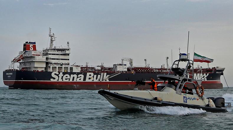 """Nach Tanker-Beschlagnahme: Großbritannien prüft """"Strafmaßnahmen"""" gegen Iran"""