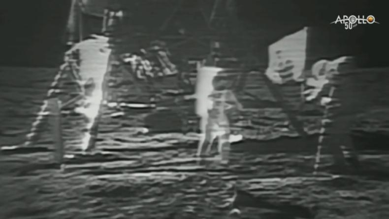 Rückblick: Die ersten Schritte der Menschheit auf dem Mond vor 50 Jahren