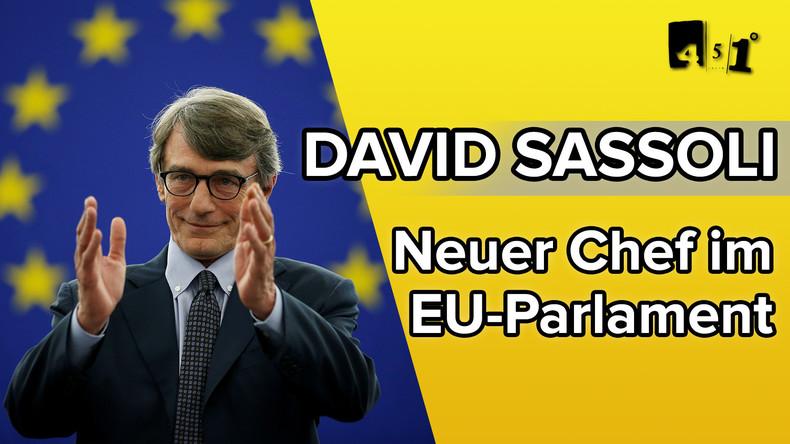 David Sassoli – Der neue Chef der EU | 451 Grad