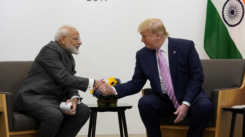 """Indien dementiert: """"Haben Trump nie um Vermittlung im Kaschmir-Konflikt gebeten"""""""