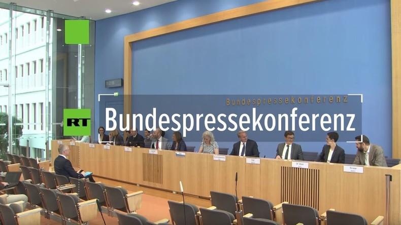 Bundespressekonferenz: Das Auswärtige Amt und die diplomatischen Verrenkungen zu Venezuela