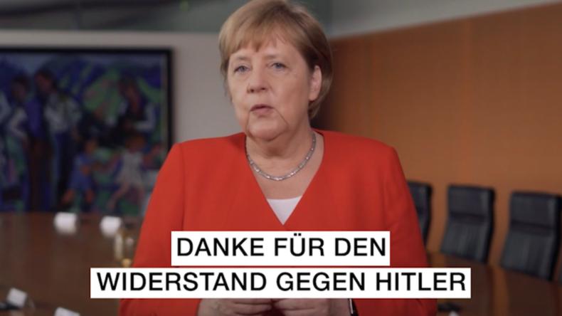 Geschichtsklitterung: Wie Angela Merkel dem Widerstand des 20. Juli huldigt