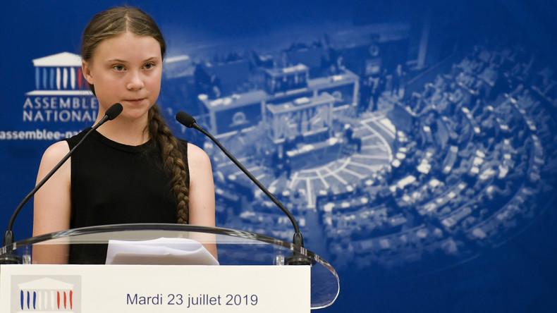 """""""Guru der Apokalypse"""": Streit um Greta Thunbergs Auftritt vor dem französischen Parlament"""