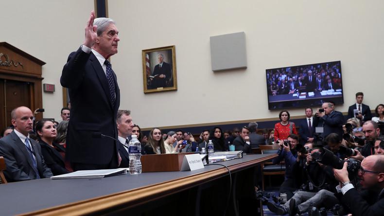 Nicht existente Russlandaffäre geht weiter: Robert Mueller erscheint vor US-Kongress (Video)