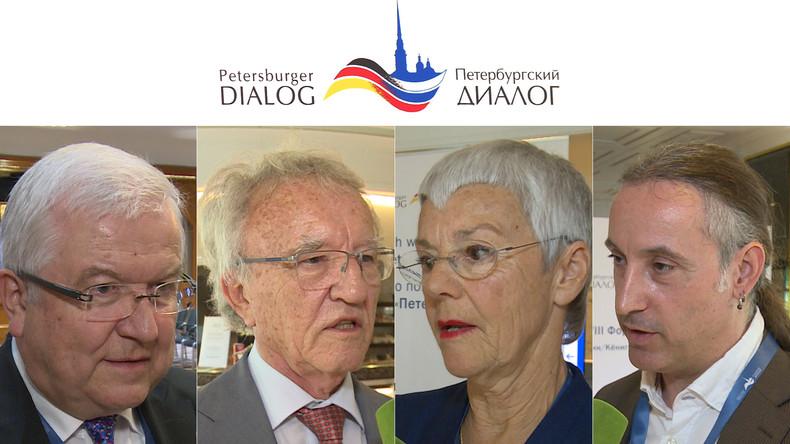 Petersburger Dialog: Deutschland und Russland nähern sich Gesprächen auf Augenhöhe (Video)