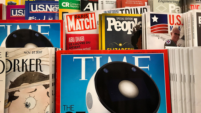 Kein Platz für Russland: Time-Magazin zeigt den modernen Mond-Eroberer