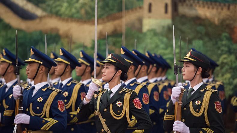 China: Peking bereit, in den Krieg zu ziehen,beimVersuch, Taiwan von China zu trennen