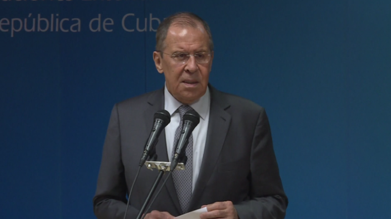 Lawrow: Stehen Kuba bei neokolonialen US-Aktionen zur Seite, sodass sie sie überwinden