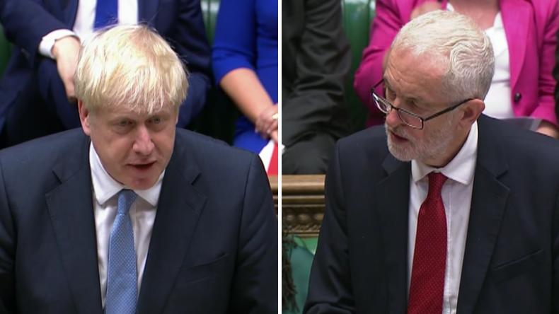 """Corbyn vs. Johnson: """"Sie machen uns zum US-Vasallen"""" – """"Nein, ich führe uns ins goldene Zeitalter"""""""