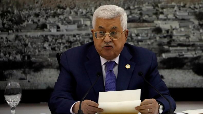 Krise im Nahen Osten: Palästina setzt alle Abkommen mit Israel aus