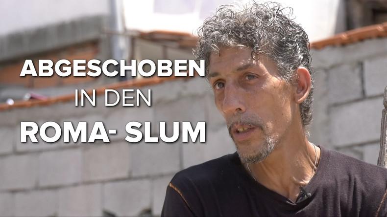 Abgeschoben in den Roma-Slum - Von Deutschland nach Nordmazedonien (Video)