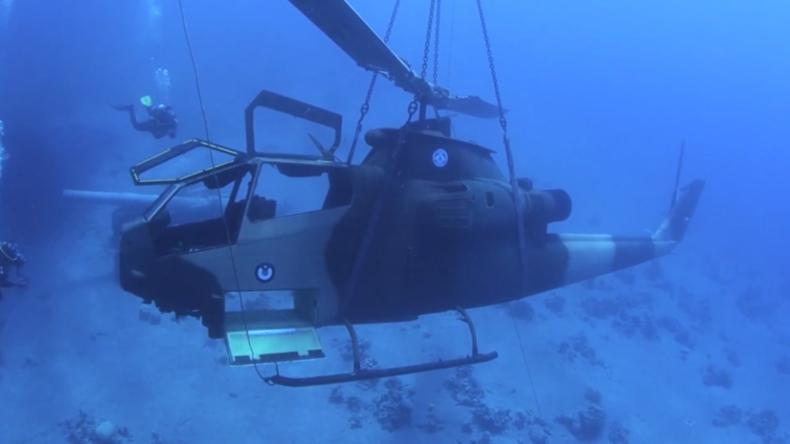 Jordanien: UnterwassermuseumfürMilitärische Ausrüstung