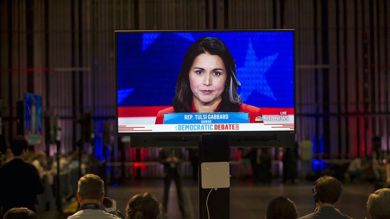 Einmischung in Wahlen? - US-Präsidentschaftskandidatin verklagt Google wegen Sperrung (Video)