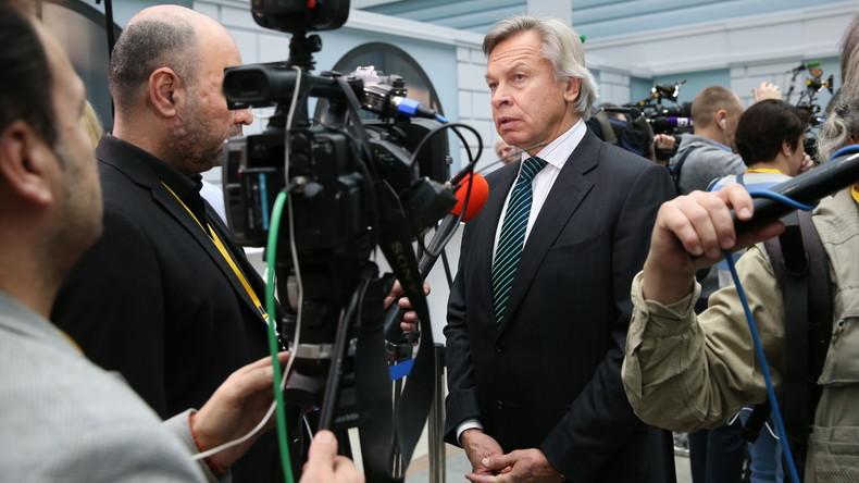 Russischer Föderationsrat arbeitet an Maßnahmen zur Abwehr westlicher Informationskriege