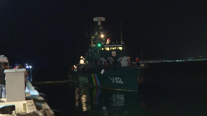 Neun Besatzungsmitglieder gerettet, nachdem iranisches Frachtschiff im Kaspischen Meer sinkt