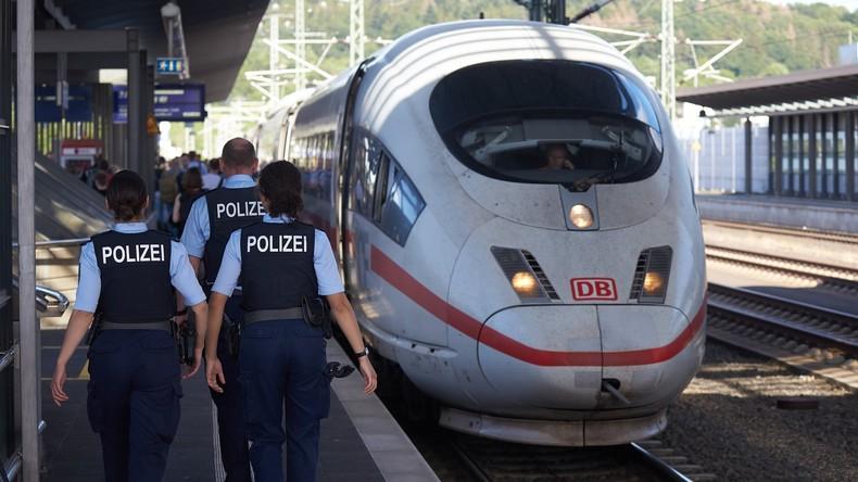 Frankfurt am Main: Kind vor einfahrenden ICE gestoßen - Mann festgenommen