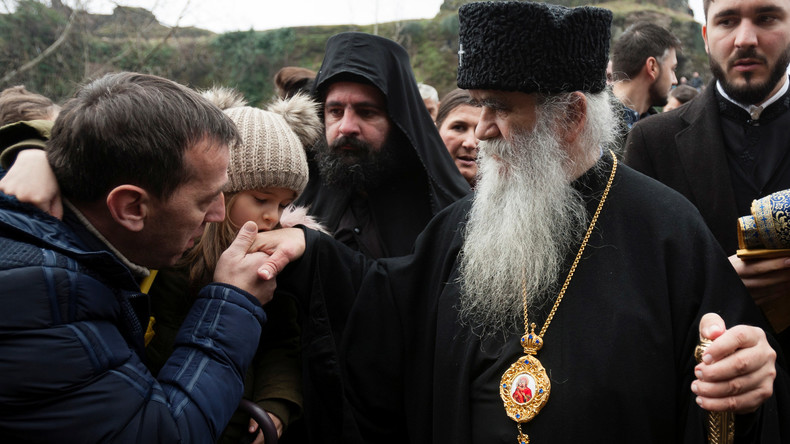 """Erzbischof von Cetinje : """"Von Montenegro verhängte Anti-Russland-Sanktionen sind Wahnsinn"""""""