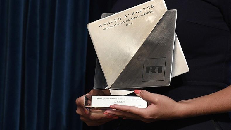 RT-Awards für Kriegsberichterstattung: Arbeiten aus Indien, Italien, Russland und USA ausgezeichnet