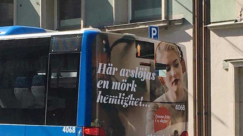 Wegen zu tiefen Dekolletés: Schwedischer Busfahrer verweigert Frau Mitfahrt