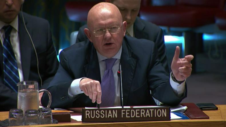 """Nebensja: Westliche Länder wollen """"eine terroristische Präsenz in Idlib aufrechterhalten"""""""