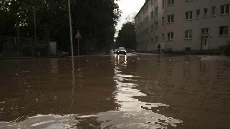 Erneut Unwetter: Besonders Norden und Osten von Starkregen, Gewittern und Sturmböen betroffen