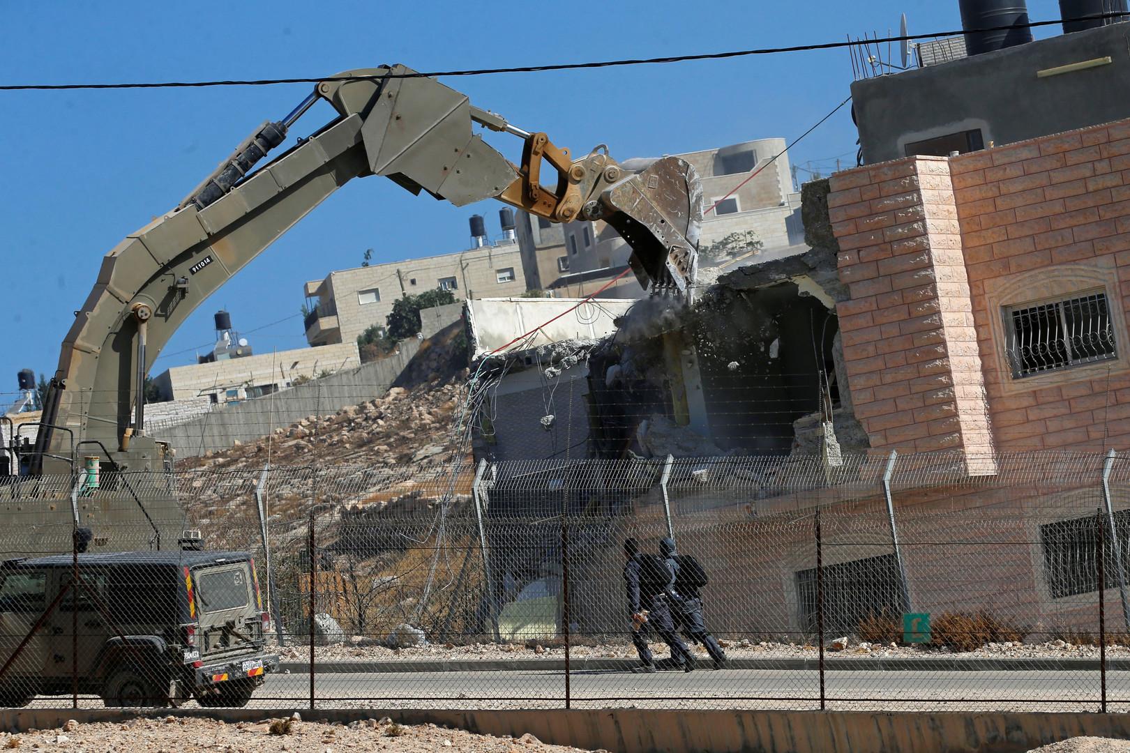 Israel reißt palästinensische Häuser im Westjordanland ab