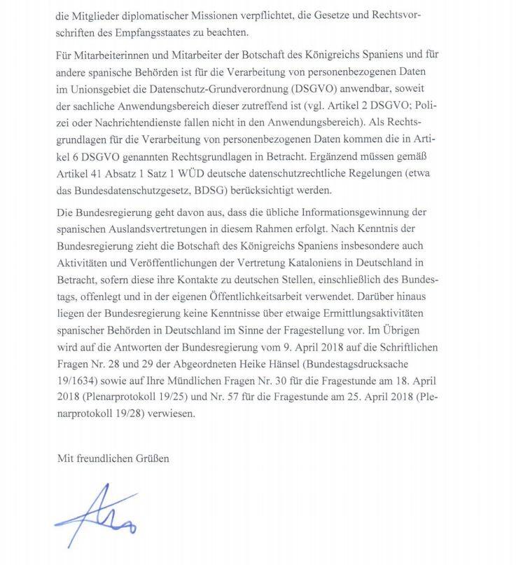 """Neuer belegter Spionagefall von """"befreundeten Diensten"""" in Deutschland: Bundesregierung wiegelt ab"""
