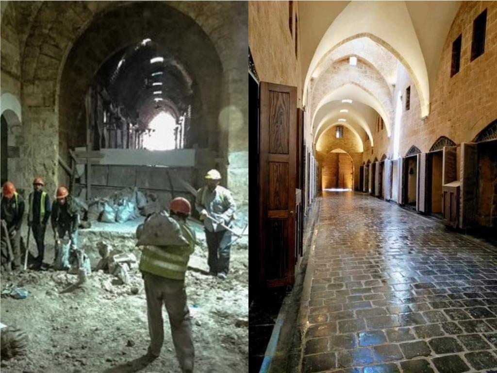 Wiederaufbau von Aleppo: Vorher-Nachher-Fotos zeigen Erfolge bei Restaurierung der Altstadt