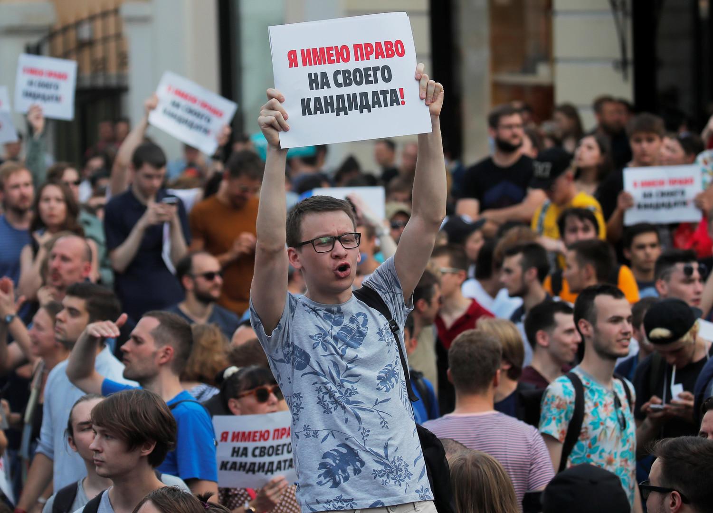 """Proteste wegen Nichtzulassung zur Moskau-Wahl: Schaukelt sich in Russland ein """"Maidan"""" hoch?"""