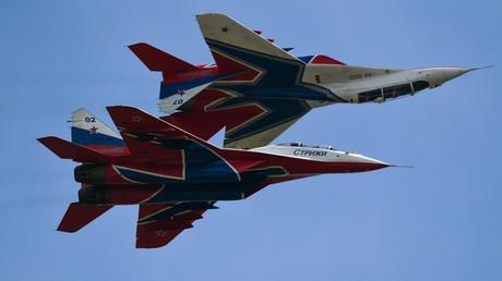 Russische MiG-29-Kampfflugzeuge