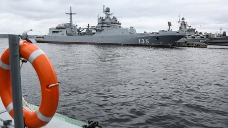 Symbolbild: Marinestützpunkt der Stadt Seweromorsk