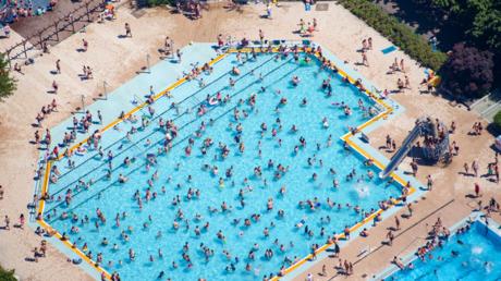 Sommerbad Berlin-Mariendorf im Juni 2019