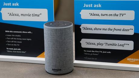 Horcht immer mit: Der Alexa-Sprachassistent von Amazon.
