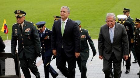 Freut sich über EU-Millionen: Kolumbiens Präsident Iván Duque.