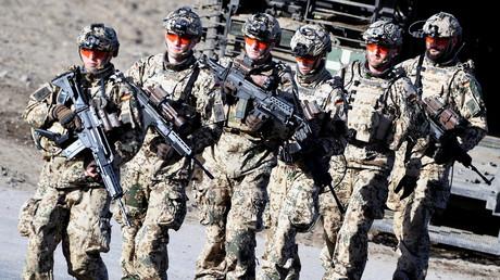 USA wollen deutsche Bodentruppen für Anti-IS-Einsatz in Syrien (Symbolbild)
