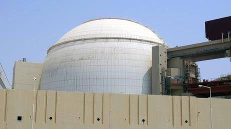 Ein Blick auf den Hauptkernreaktor Bushehr, 1.200 km südlich von Teheran, 21. August 2010.