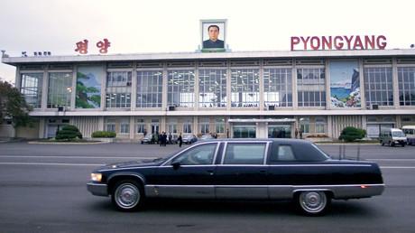 Symbolbild: Flughafen von Pjöngjang, Nordkorea, 23. Oktober 2000.