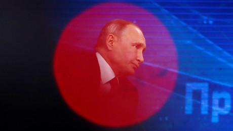 (Archivbild). Ein Interview des russischen Präsidenten für die
