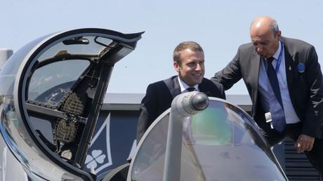 Emmanuel Macron kündigt Aufbau eines militärischen Weltraumkommandos an (Archivbild)