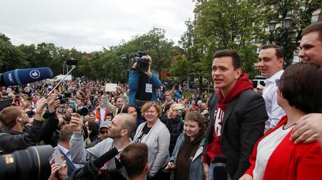LIVE: Moskau – Proteste zur Unterstützung von Oppositionskandidaten im Stadtparlament