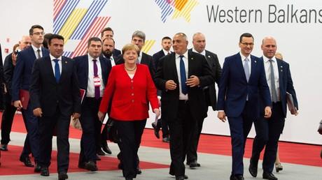 Gemeinsam in eine Richtung? Die Teilnehmer der Westbalkankonferenz im polnischen Posen (5. Juli 2019).