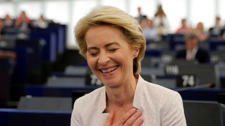 Ursula von der Leyen nach ihrer Wahl zu Chefin der EU-Kommission
