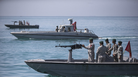 Iranische Streitkräfte im Persischen Golf (Archivbild)