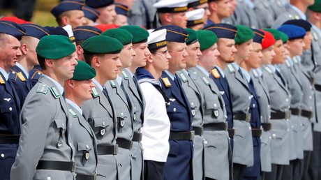 Soldaten während der Vereidigung in Berlin, am 20. Juli 2019.