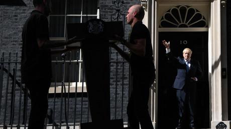 Der neue britische Premierminister Boris Johnson plant große Veränderungen. Bild: Vor einer Rede am Amtssitz des Premierministers in London am 24. Juli 2019.