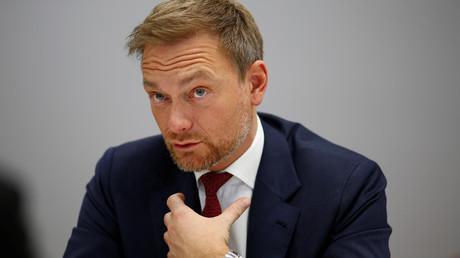 (Archivbild). FDP-Chef Christian Lindner während eines Medientermins in Berlin am 11. Februar 2019.