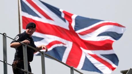 An Bord des britischen Kriegsschiffs HMS Albion (Symbolbild).