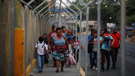 USA und Guatemala unterzeichnen Migrationsabkommen (Symbolbild)