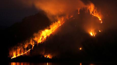 Waldbrände in Sibirien: Über zwei Millionen Hektar Wald in Flammen (Archivbild)